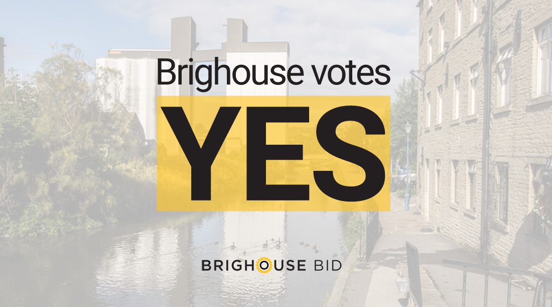 Brighouse votes 'YES' for new Business Improvement District